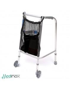 Cesta para silla de ruedas