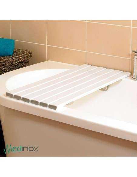 Tabla de bañera obesos colocada