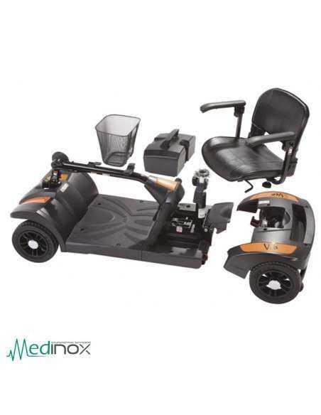 Scooter para minusvalidos desmontada