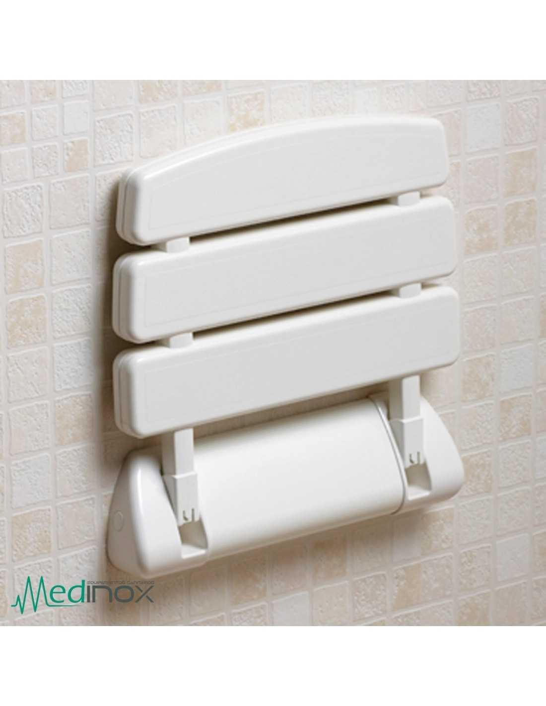 Asiento ducha abatible ayad715 asiento plegable para - Accesorios bano discapacitados ...
