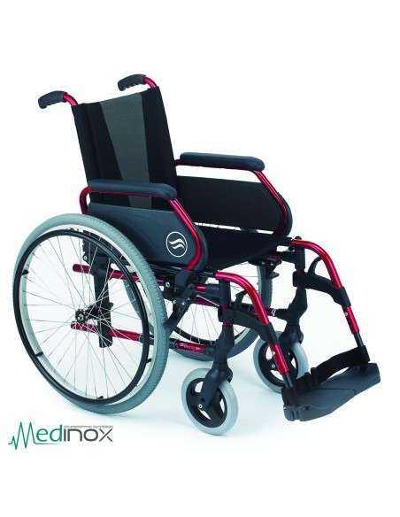 Sillas de ruedas plegables SUB300 rojo
