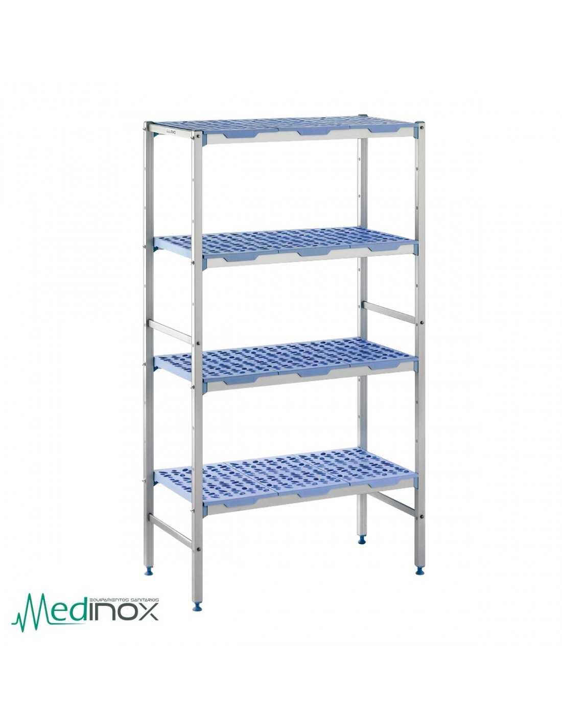 Estanterias metalicas nigm600 estanterias industriales - Estanterias metalicas modulares ...