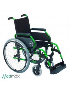 Sillas de ruedas plegables SUB300 verde