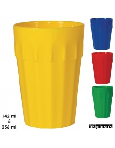 Vasos policarbonato colores