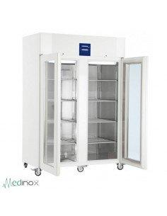 Refrigerador doble laboratorio pta. cristal FLLKPv1423