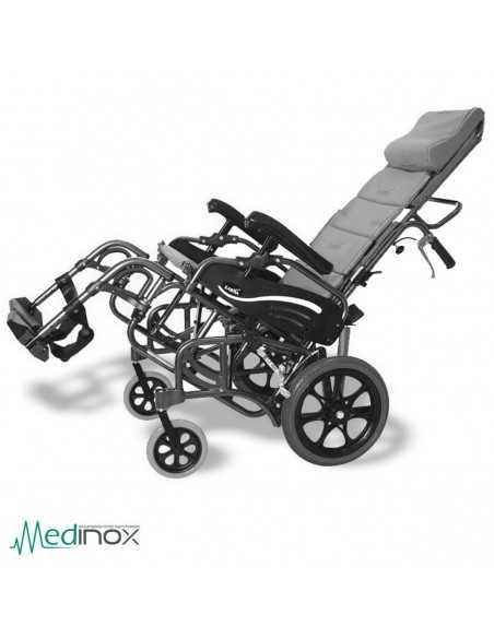 Silla de ruedas basculante AYAD819 plegable