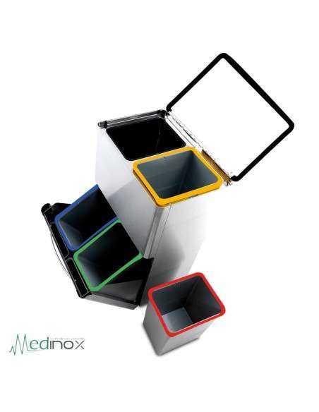 Cubo de reciclado 4 en 1 FS486068