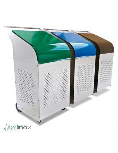 Contenedor reciclaje profesional FS486066
