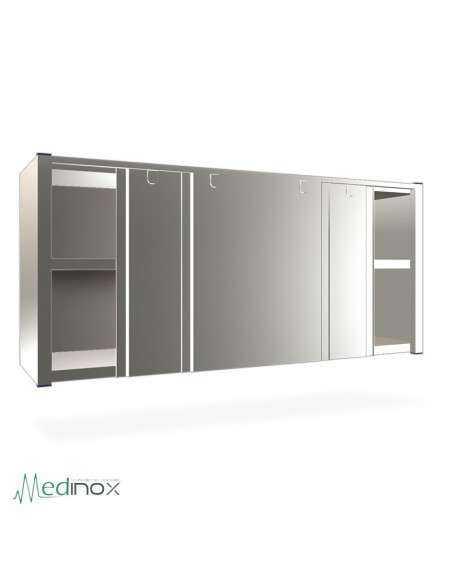 Armarios de pared INOX FS080806