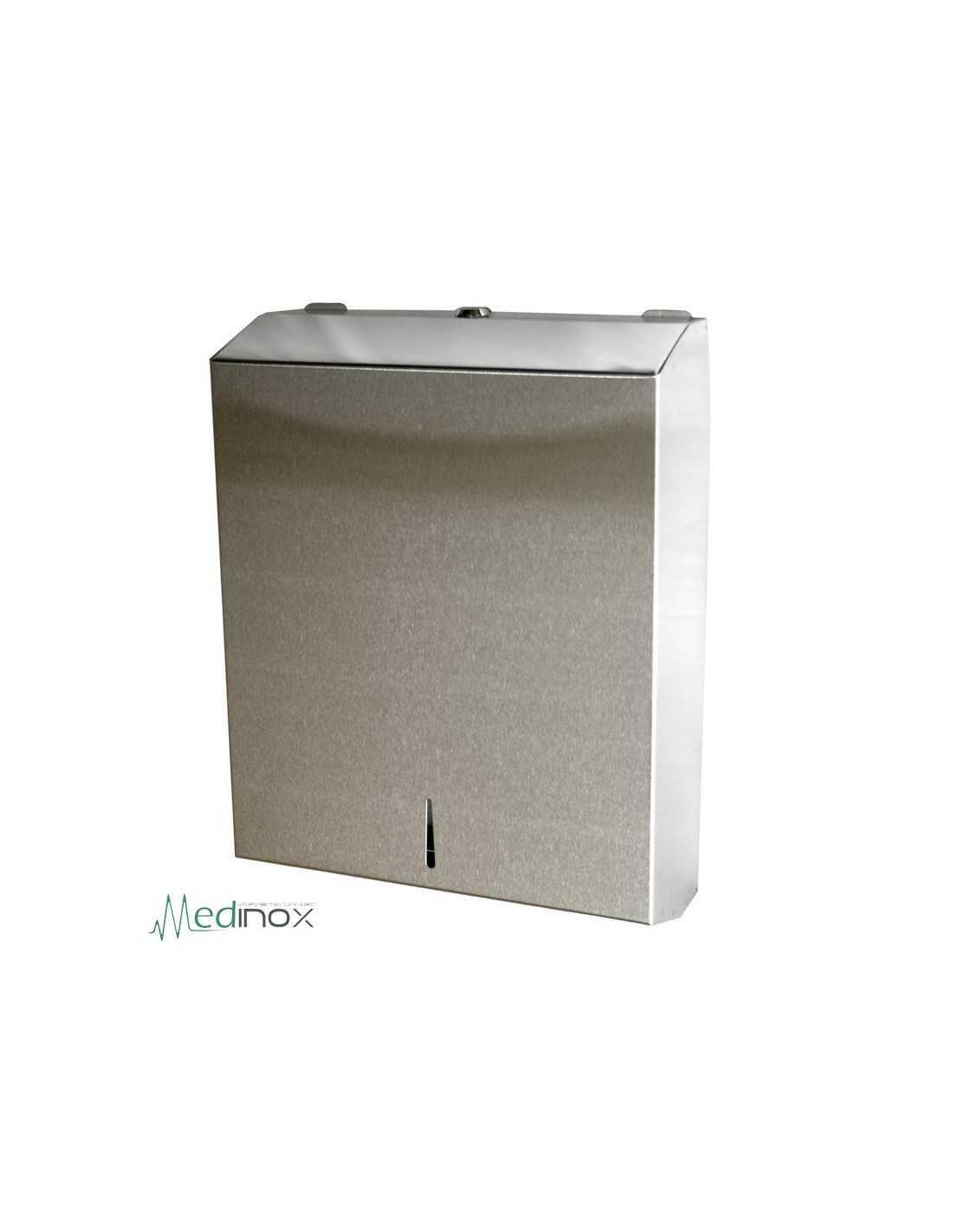 Dispensador de toallas de papel inox fs460224 para 400 600 - Dispensador de papel ...