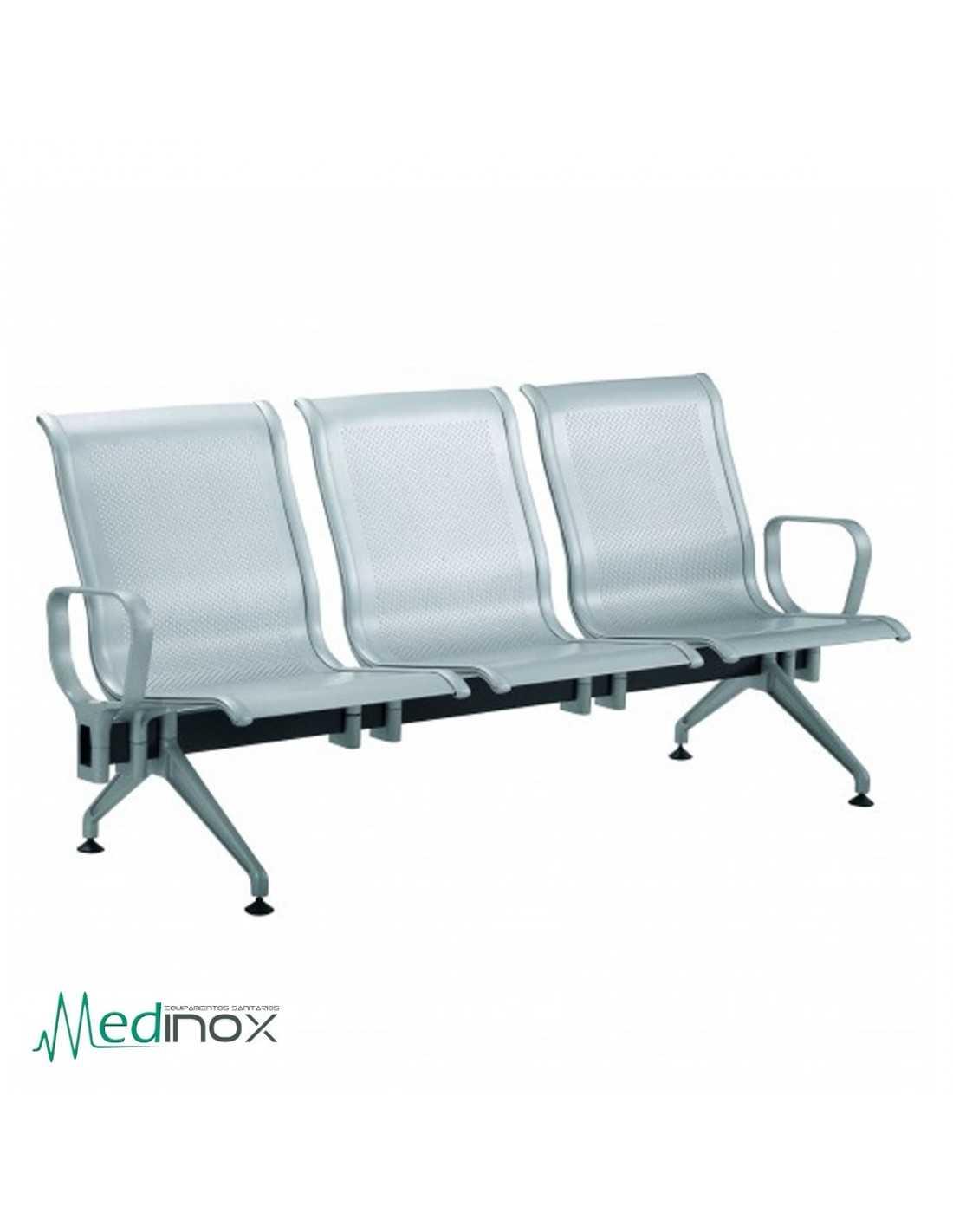Sillas sala espera rljava3 bancada 3 sillas de espera en for Sillas para la sala