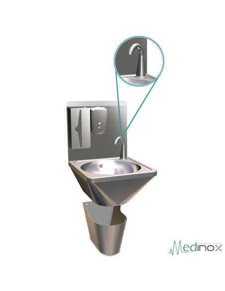 Lavamanos integral electrónico mural FS061410