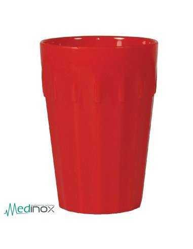 Vasos policarbonato colores rojo NS270