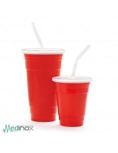 Vasos de plastico reutilizables DMSC-32