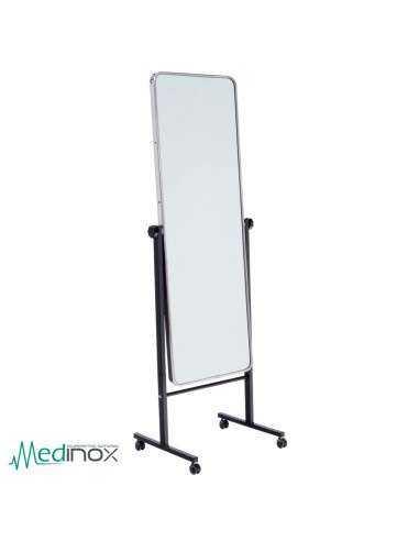 Espejos de pie ic40122 luna de 150 h x50 a cm en acero for Espejos de pie precios