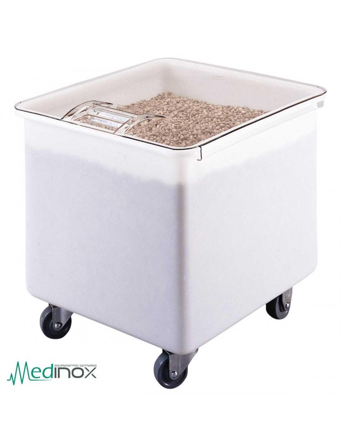 Cajas de almacenaje de plastico dmib32 con ruedas para - Caja de almacenaje ...
