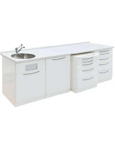 Muebles auxiliares con lavado